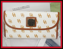 Dooney & Bourke Gretta Continental Clutch