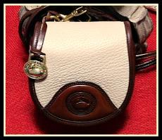 Dreamy Stone Equestrian Belt Bag Vintage Dooney