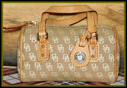 NEW! Mini Signature Barrel Satchel