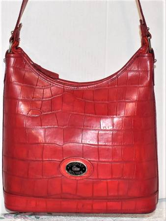 Delicious Tart Red Cherry Dooney Bayou Hobo Shoulder Bag