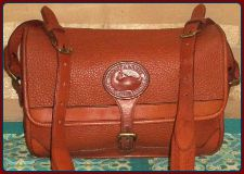 SOLD! Vintage Dooney and Bourke All-Weather Leather Large Surrey Bag