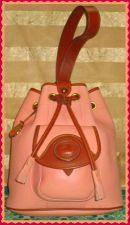 Flamingo Buttercream Peach Dooney AWL Sling Bag