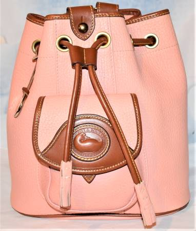Flamingo Peach Dooney AWL Sling Bag