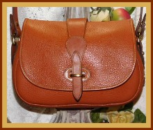 Rich Spicy Pecan Tan Dooney Tack Bag