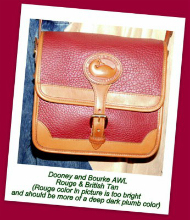 Cherry-Plum Explosion Vintage Surrey Bag