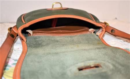 Dooney and Bourke  All-Weather Leather  Vintage Tack Bag: #R51 Marble Bag