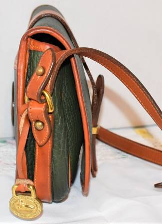 Dooney and Bourke  All-Weather Leather  Vintage Tack Bag: #R51 Marble Bag