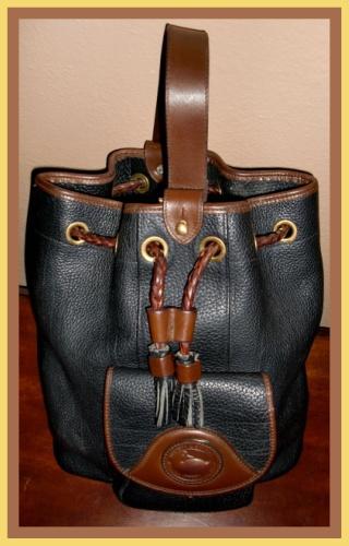Peppercorn & Whispers of Chocolate Dooney Sling Bag