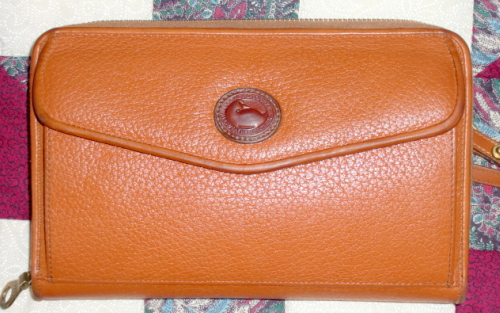 SOLD! Zip Around Dooney and Bourke AWL Wallet Mint!