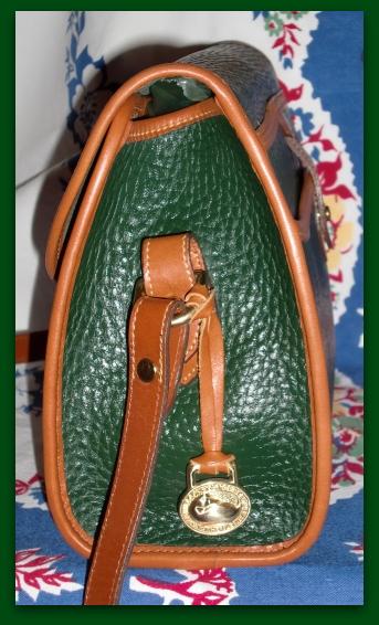 SOLD! Fir Green Essex Dooney & Bourke AWL Vintage Bag