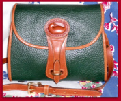 SOLD! Fir Green Essex Dooney & Bourke AWL Vintage Bag