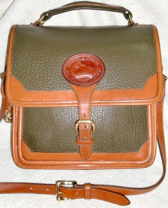 SOLD! Rare Olive Green Surrey Bag by Dooney and Bourke AWL