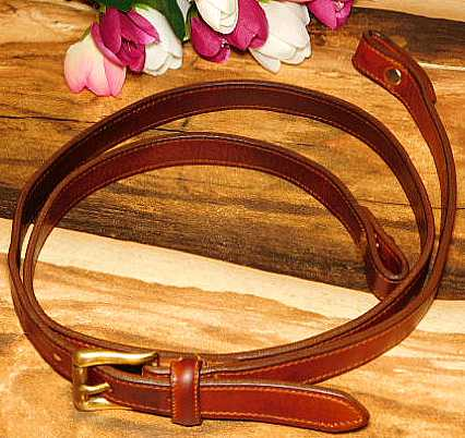Leather Strap for AWL Vintage Dooney Shoulder Bags 1""