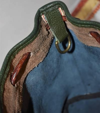 Vintage Dooney and Bourke  All-Weather Leather  Teton Drawstring Handbag/Shoulder Bag