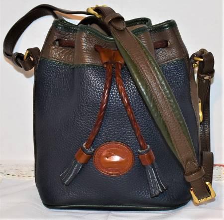Color Explosion Dooney Mini Teton Drawstring Bag