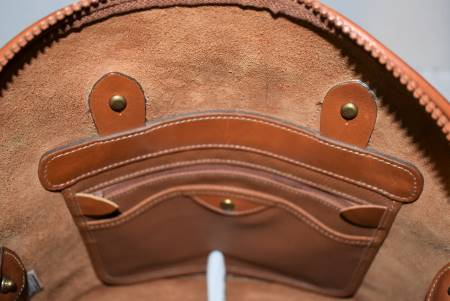 Vintage Dooney and Bourke  All-Weather Leather® Collection  R04 Small Norfolk Case