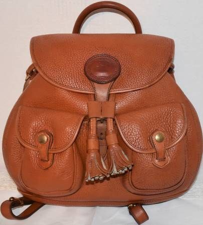 Dooney and Bourke AWL  All-Weather Leather  Canyon BackPack