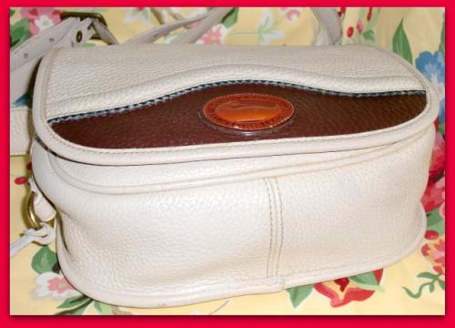 SOLD! Teton Collection Dooney & Bourke All Weather Leather Rare Vintage Shoulder Bag