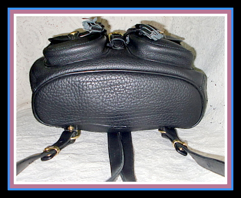 SOLD!!! Beautiful Large Black Dooney Backpack All Weather Leather
