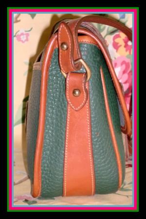 Equestrian Fir Green Dooney & Bourke AWL Tack Bag