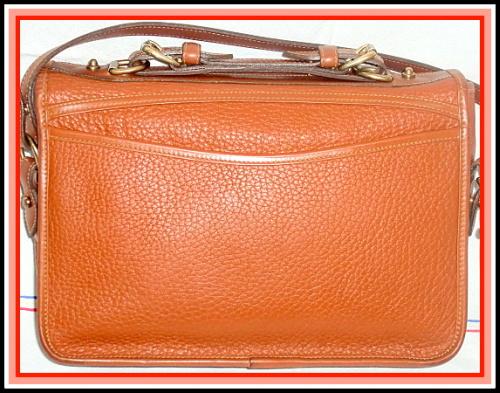 SOLD! Rich Peanut Large Dooney & Bourke AWL Carrier Bag
