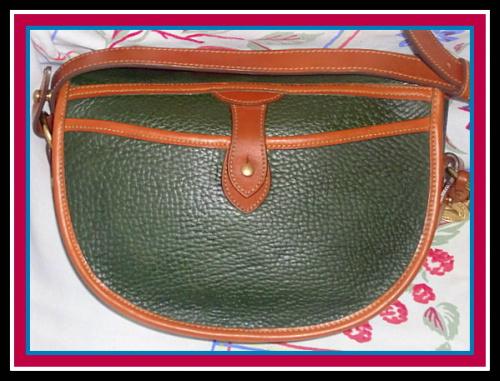 Lush Fir Green Cavalry Trooper Dooney & Bourke AWL Bag