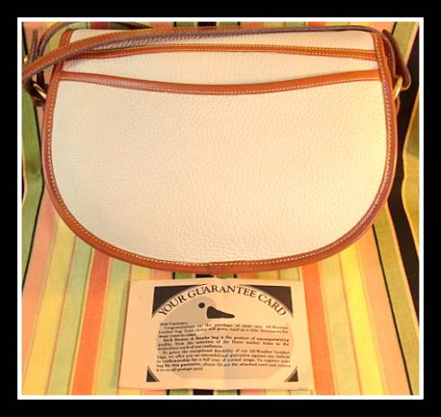 Vogue Saddle Bag Vintage Dooney Bourke AWL