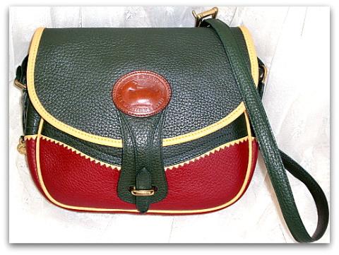 Exotic Teton Rose Palomino & Ivy Dooney Bourke AWL Bag