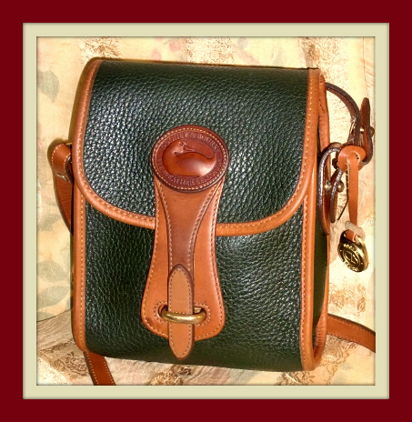 Dandy Dainty Vintage Essex North South Dooney Shoulder Crossbody Bag