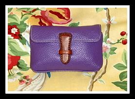 SOLD! Passionate Purple Delight Dooney Mini