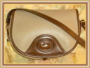 Splendid Equestrian Style Vintage Dooney Saddle Bag AWL