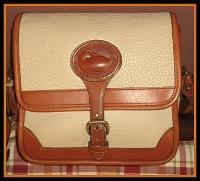 SOLD! Bonny Bone Mini Rectangular Dooney Bourke All-Weather Leather