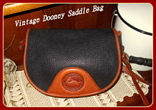 SOLD! Round Up Time! Big Black & Tan Saddle Flap Vintage