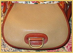 SOLD! Ultimate Vintage Dooney & Bourke Horseshoe Bag AWL