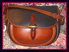 SOLD! Authentic Equestrian Outback Dooney Saddle Bag