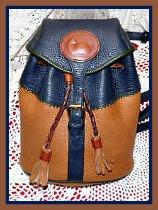Decadent Teton Vintage Dooney Back Pack AWL