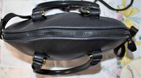 Dooney and Bourke All-Weather Leather  Norfolk Case  Shoulder Bag/ Satchel