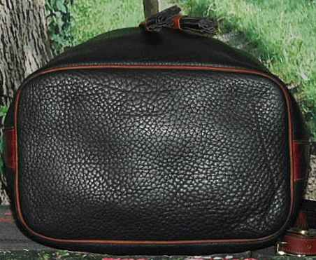 Midnight Blue Large Drawstring Shoulder Bag