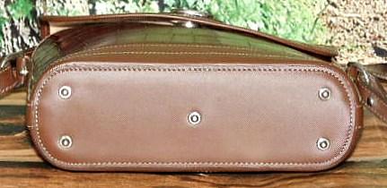 Dooney Alligator Exotic Leather Large Flap Bag