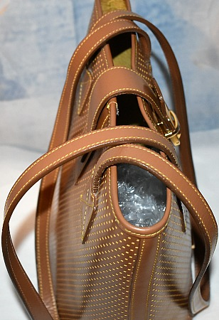 Dooney and Bourke  Cabrio Leather  Bucket Bag
