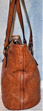 Ostrich Bucket Bag Dooney Bourke