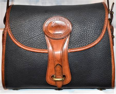 Licorice Whip Black Dooney Essex Shoulder Bag