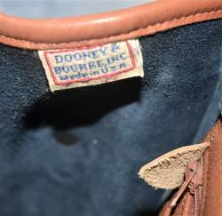 Vintage Dooney and Bourke  All-Weather Leather  Essex Shoulder Bag