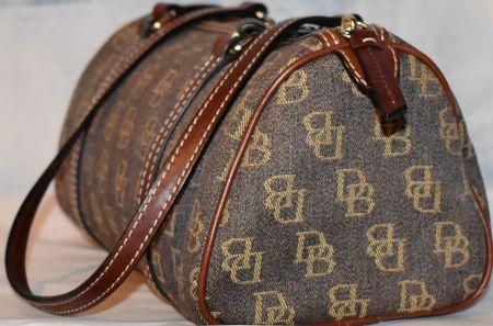 Shadow DB Fabric Barrel Bag
