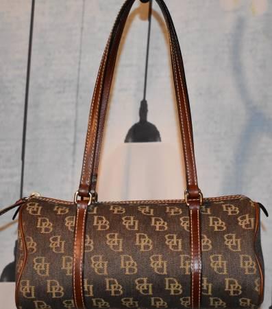Shadow Dooney Bourke Fabric Barrel Bag