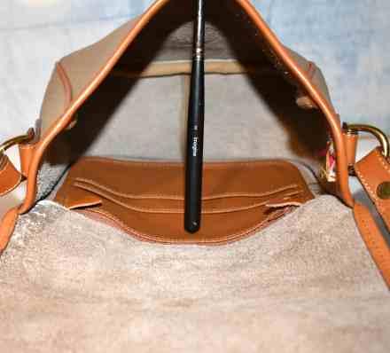 Vintage Dooney Taupe Equestrian Tack Bag