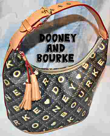 Dooney and Bourke  Coated Cotton Signature Collection  Bucket Bag