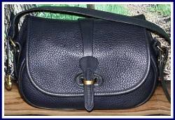 Coastal Blue Breezey Equestrian Dooney Tack Bag