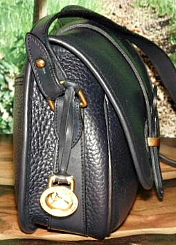 Navy Blue Equestrian Tack Bag