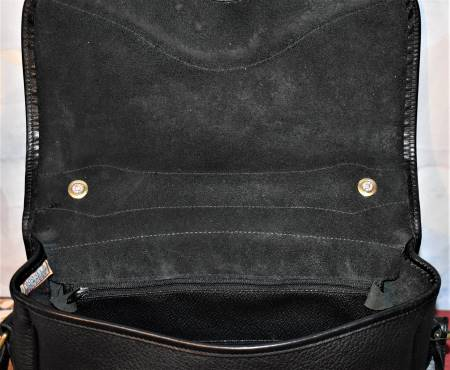 All-Weather Leather® Collection  Large Carrier Shoulder Bag/Mini-Briefcase